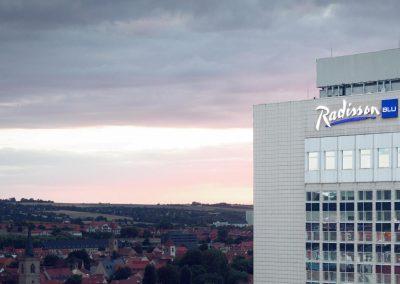 Radisson Blu Hotel Erfurt Aussenansicht