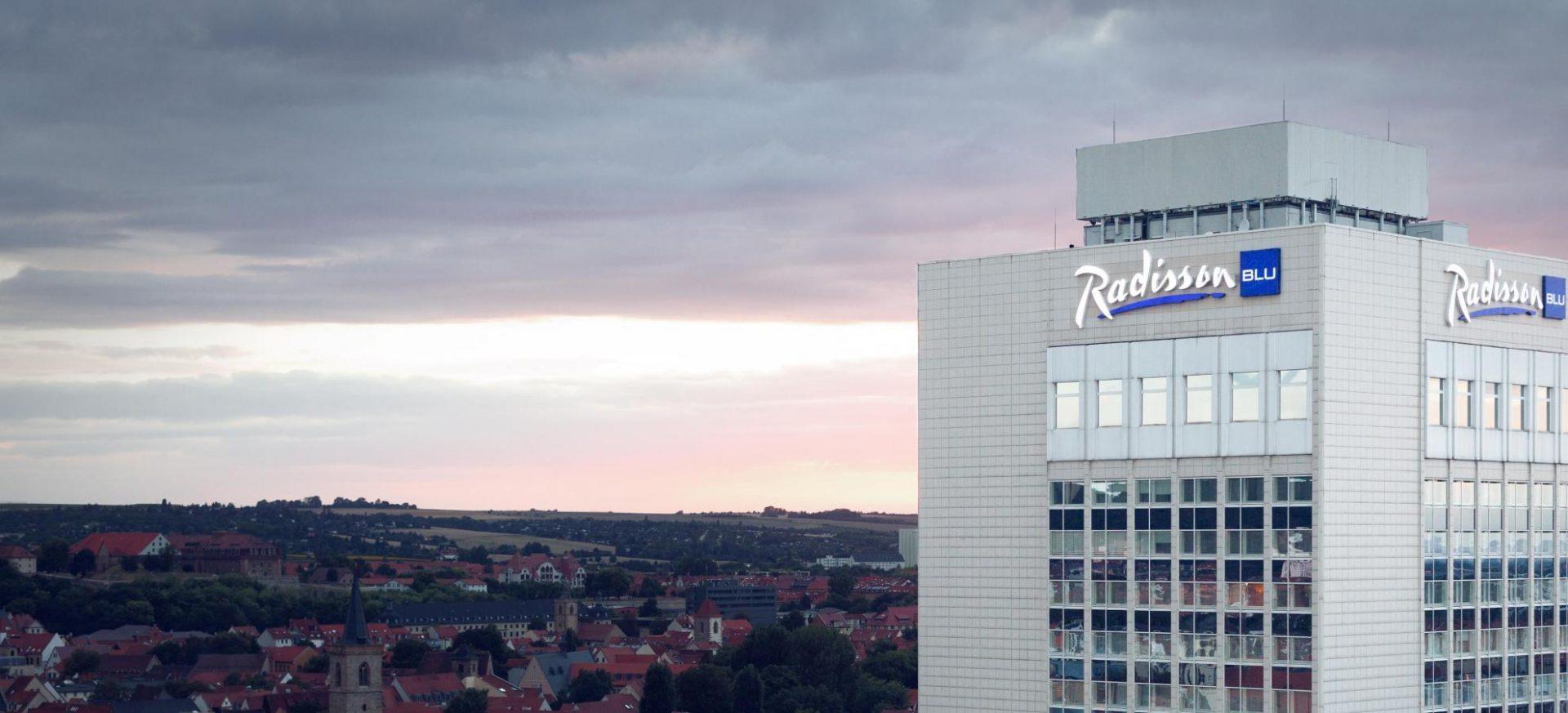 Radisson Blu Hotel Erfurt Aussenansichtf