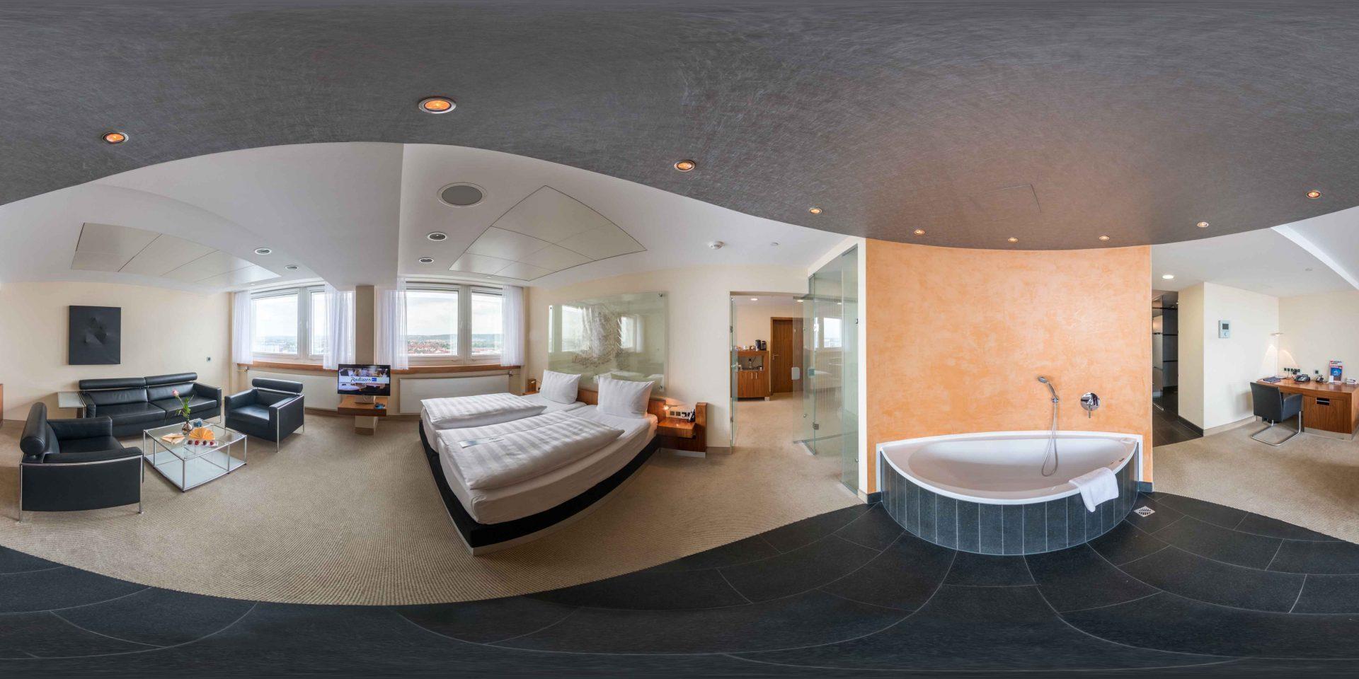 executive suite radisson blu hotel erfurt
