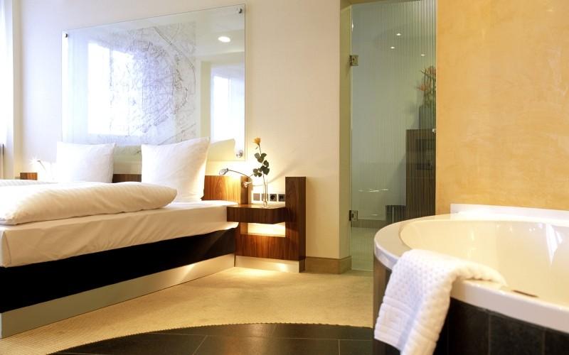 Radisson Blu Hotel Erfurt - Executive Zimmer Schlafbereich
