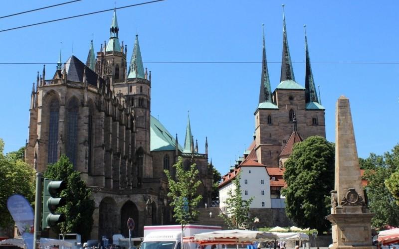 Die Geschichte Erfurts