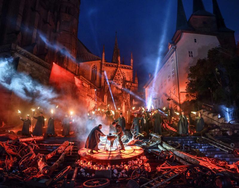 Veranstaltungen erfurt Domstufenfestspiele