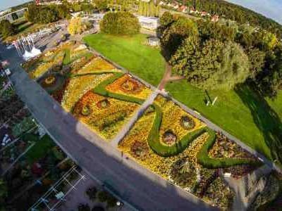 Der egapark Erfurt im Wandel der Jahreszeiten