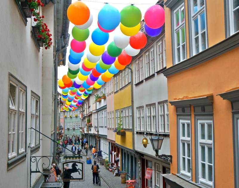 Veranstaltungen erfurt - Das Krämerbrückenfest Erfurt