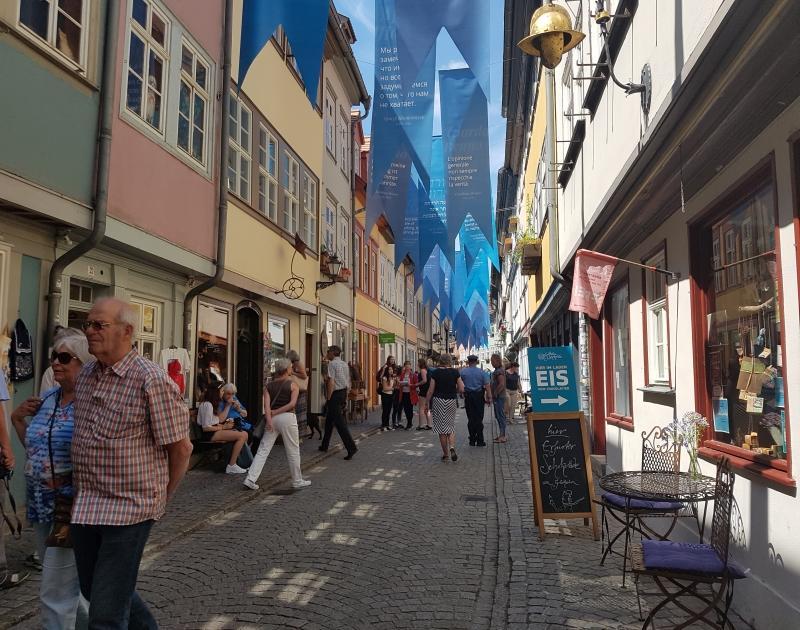 Besuchen Sie das Krämerbrückenfest in Erfurt