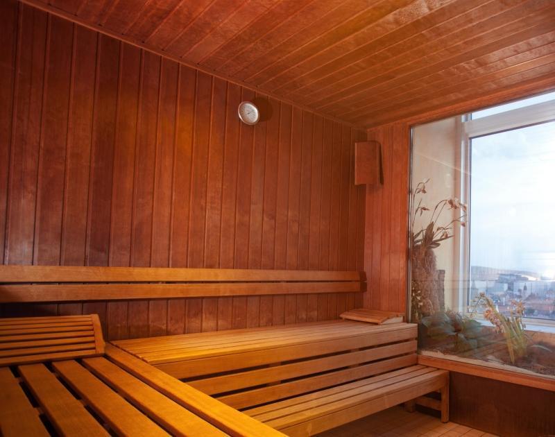 Die Sauna im Radisson Hotel Erfurt