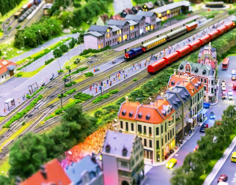 Schauanlagen Modell Leben - Radisson Blu Erfurt