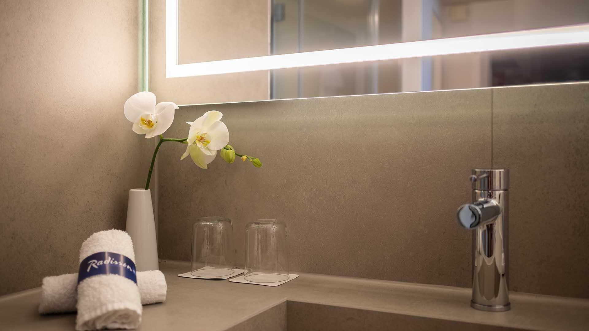 Radisson Blu Hotel Erfurt Premiumkategorie Detail Bad 1