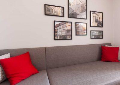 Radisson Blu Hotel Erfurt Premiumkategorie Detail Couch