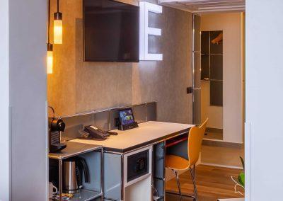 Radisson Blu Hotel Erfurt Premiumkategorie Wohn und Schlafbereich 2