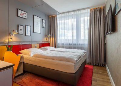 Radisson Blu Hotel Erfurt Standardzimmer Wohnbereich 1